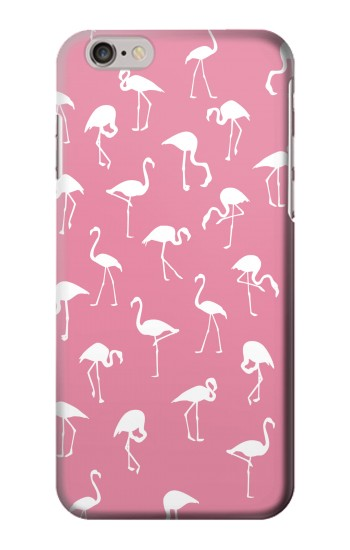 Printed Pink Flamingo Pattern Iphone 6 Case