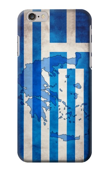Printed Greece Map Flag Iphone 6 Case