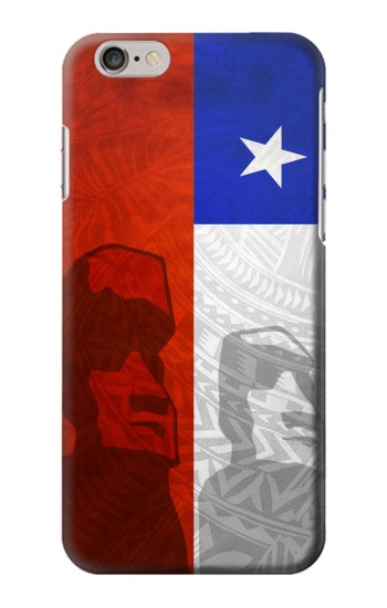 Printed Chile Polynesian Flag Iphone 6 Case