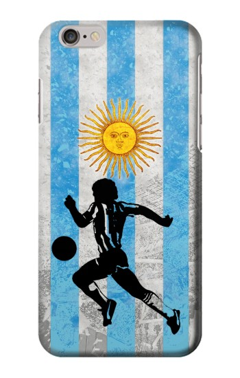 Printed Argentina Football Flag Iphone 6 Case