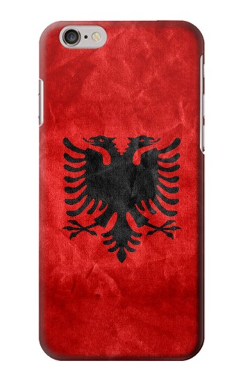 Printed Albania Red Flag Iphone 6 Case