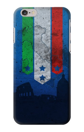 Printed Italy Football Flag Iphone 6 Case