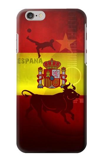 Printed Spain Football Flag Iphone 6 Case