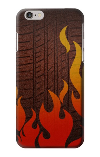 Printed Rally Car Tire Iphone 6 Case
