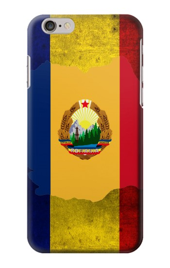 Printed Romania Flag Iphone 6 Case