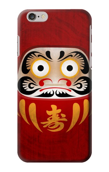 Printed Japan Good Luck Daruma Doll Iphone 6 Case