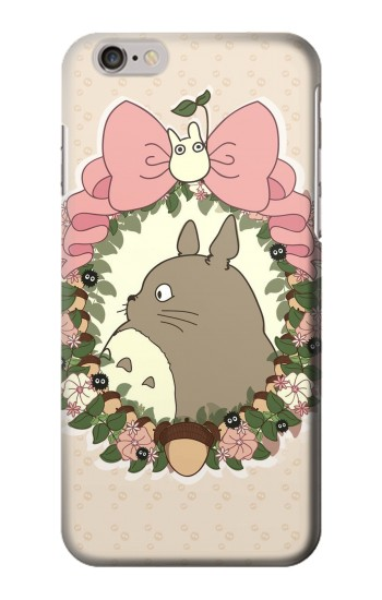 Printed My Neighbor Totoro Wreath Iphone 6 Case