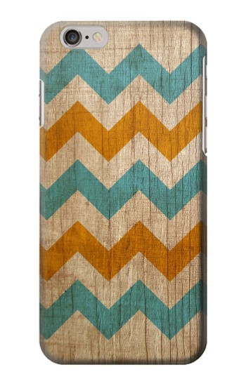 Printed Vintage Wood Chevron Iphone 6 Case