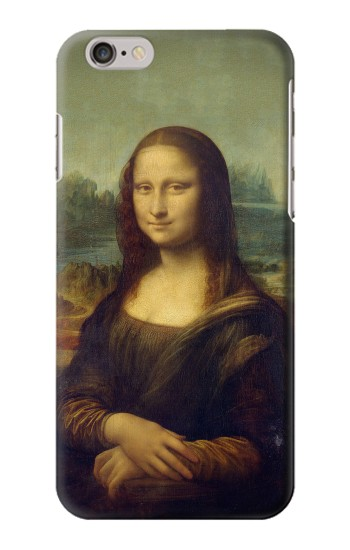 Printed Mona Lisa Da Vinci Painting Iphone 6 Case