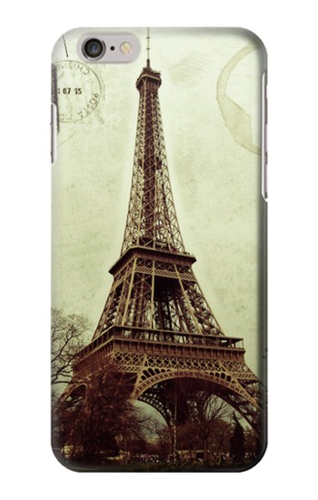 Printed Vintage Tour Eiffel Postcard Iphone 6 Case