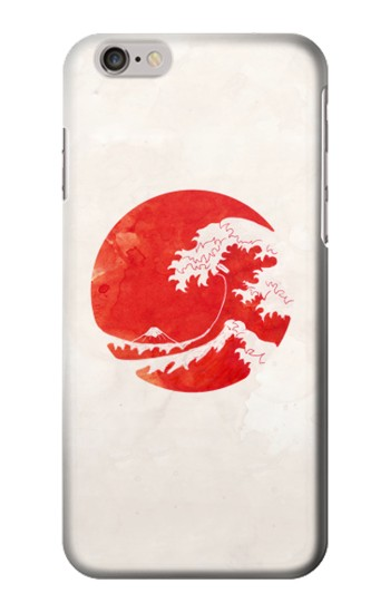 Printed Waves Japan Flag Iphone 6 Case