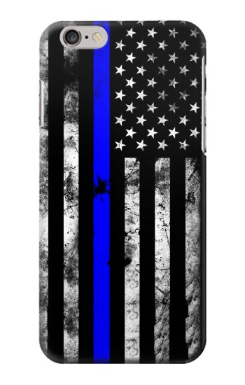 Printed Thin Blue Line USA Iphone 6 Case