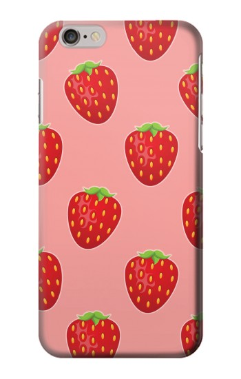 Printed Strawberry Fruit Pattern Iphone 6 Case