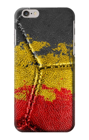 Printed Belgium Flag Vintage Football 2018 Iphone 6 Case