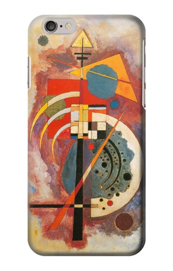 Printed Vasily Kandinsky Hommage a Grohmann Iphone 6 Case