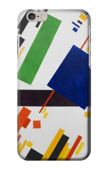 Printed Kazimir Malevich Suprematist Composition Iphone 6 Case