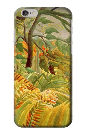 Printed Henri Rousseau Tiger in a Tropical Storm Iphone 6 Case