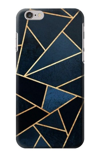 Printed Navy Blue Graphic Art Iphone 6 Case