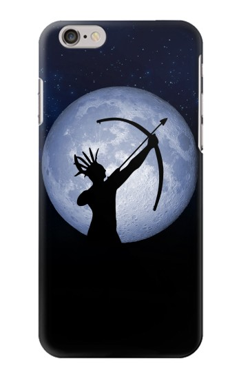 Printed Indian Hunter Moon Iphone 6 Case