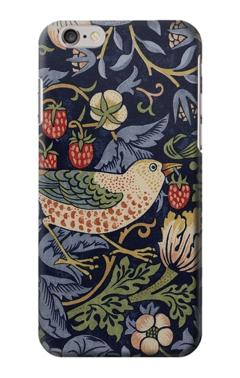 Printed William Morris Strawberry Thief Fabric Iphone 6 Case