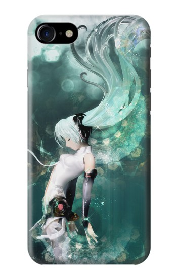 Printed Hatsune Miku Aqua Iphone 7 Case
