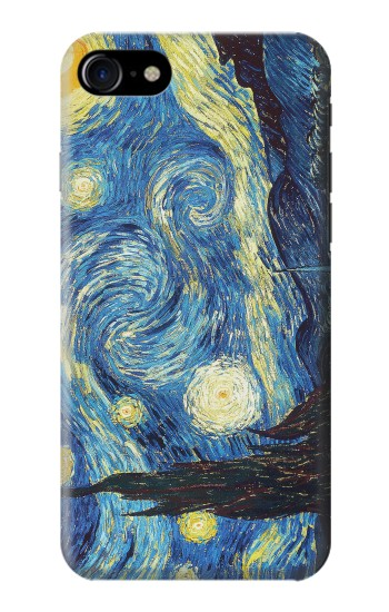 Printed Van Gogh Starry Nights Iphone 7 Case