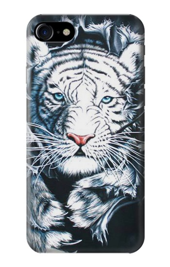 Printed White Tiger Iphone 7 Case