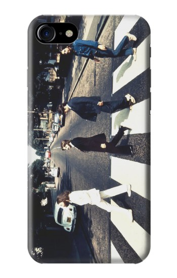 Printed The Beatles Abbey Road Iphone 7 Case