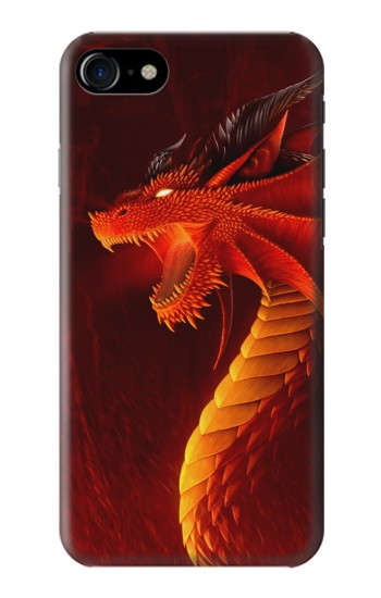 Printed Red Dragon Iphone 7 Case