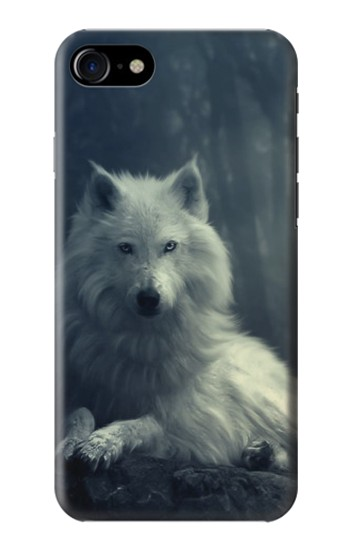 Printed White Wolf Iphone 7 Case