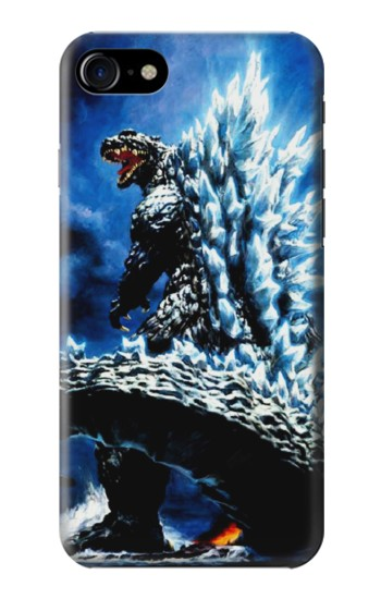 Printed Godzilla Giant Monster Iphone 7 Case