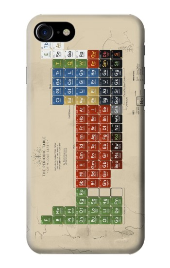 Printed The Periodic Table of Middle Earth The Lord of The Rings Iphone 7 Case