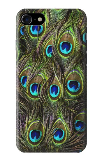 Printed Peacock Feather Iphone 7 Case