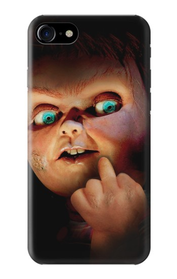 Printed Chucky Middle Finger Iphone 7 Case