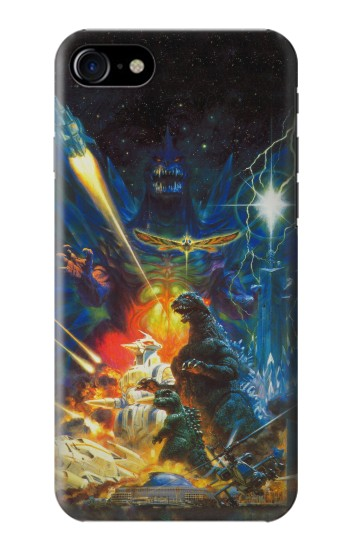 Printed Godzilla VS Space Godzilla Iphone 7 Case