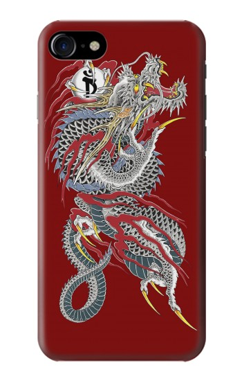 Printed Yakuza Dragon Tattoo Iphone 7 Case