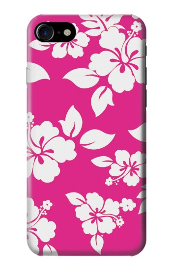 Printed Hawaiian Hibiscus Pink Pattern Iphone 7 Case