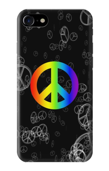 Printed Peace Sign Iphone 7 Case