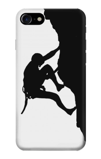 Printed Mountain Climber Climbing Iphone 7 Case
