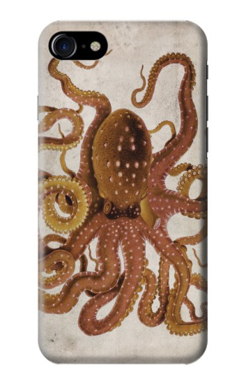 Printed Vintage Octopus Iphone 7 Case