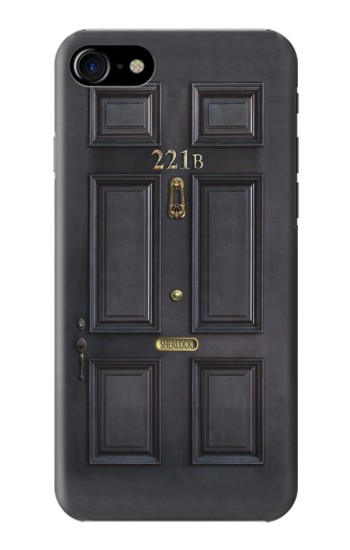 Printed Sherlock Holmes Black Door 221B Iphone 7 Case