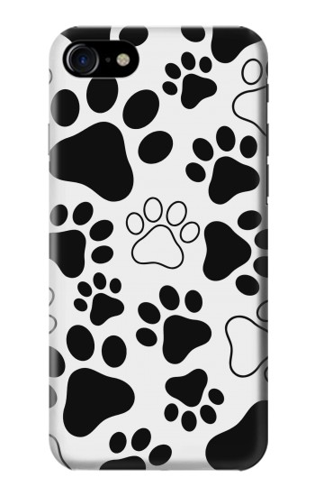 Printed Dog Paw Prints Iphone 7 Case