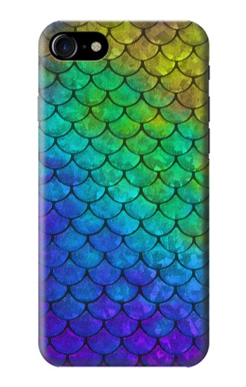 Printed Mermaid Fish Scale Iphone 7 Case