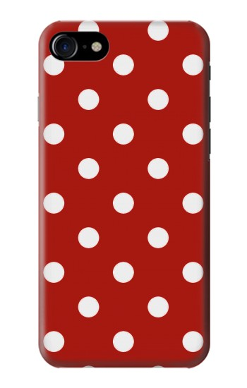 Printed Red Polka Dots Iphone 7 Case