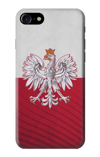 Printed Poland Football Flag Iphone 7 Case