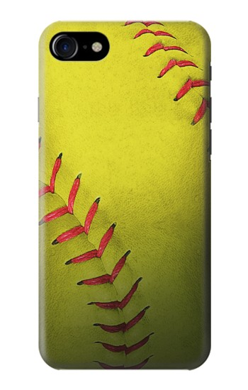 Printed Yellow Softball Ball Iphone 7 Case
