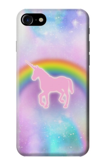 Printed Rainbow Unicorn Pastel Sky Iphone 7 Case