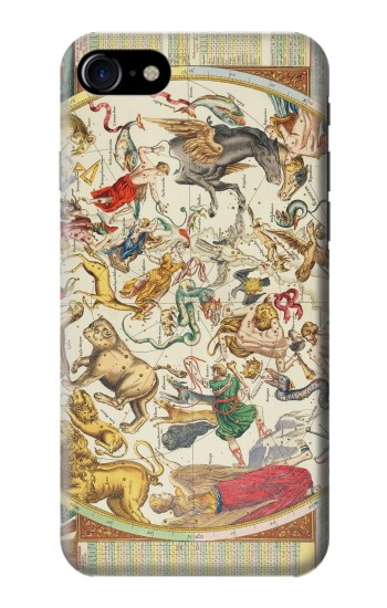 Printed Antique Constellation Map Iphone 7 Case