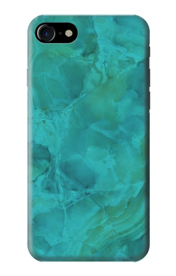 Printed Aqua Marble Stone Iphone 7 Case