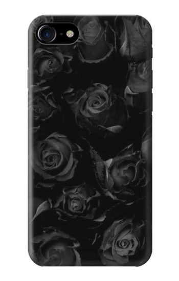 Printed Black Roses Iphone 7 Case